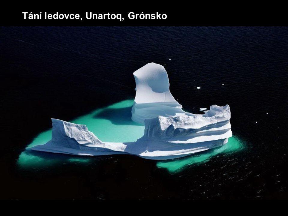Tání ledovce, Unartoq, Grónsko