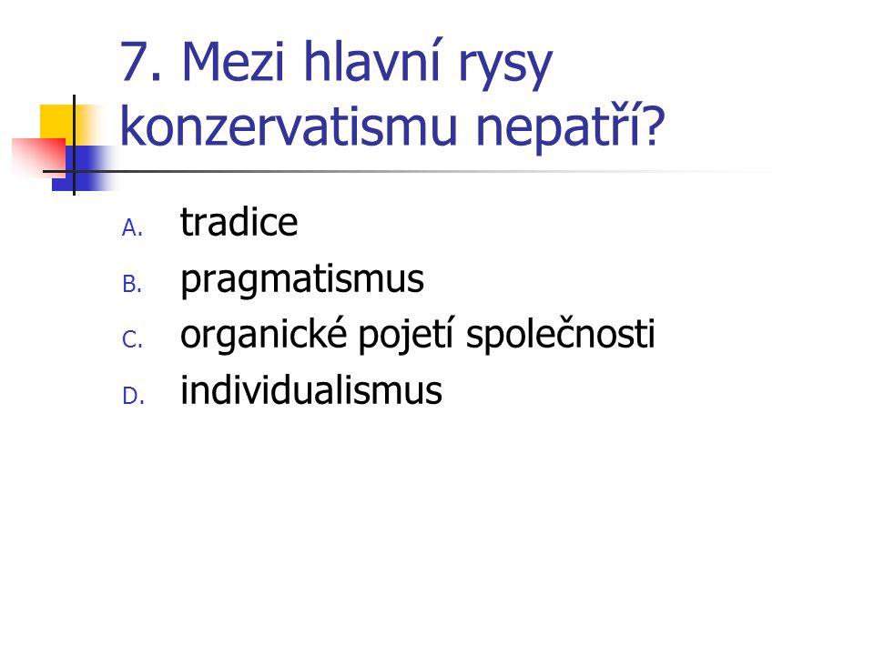 18.Seřaďte chronologicky premiéry ČR A. V.Klaus, M.Zeman, S.Gross, V.Špidla B.