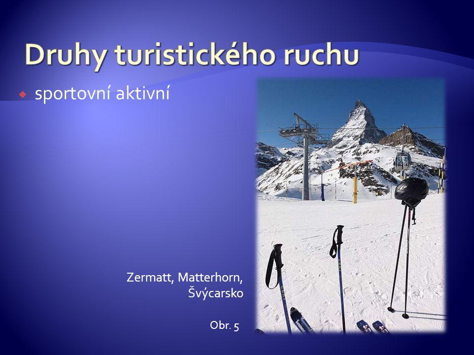  sportovní aktivní Zermatt, Matterhorn, Švýcarsko Obr. 5