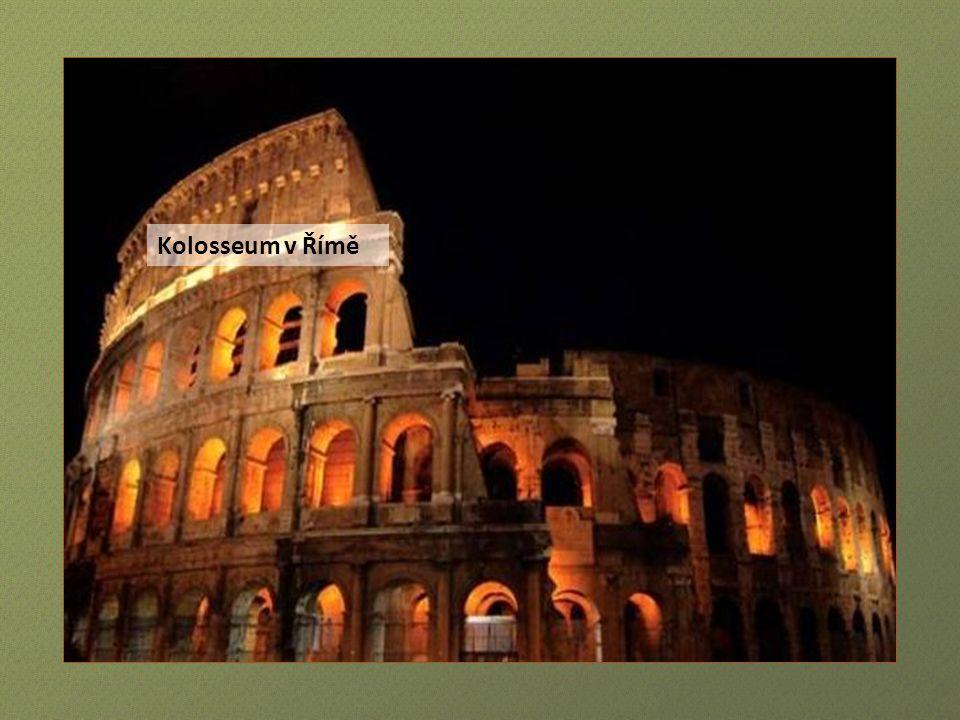 Konstantinův vítězný oblouk v Římě