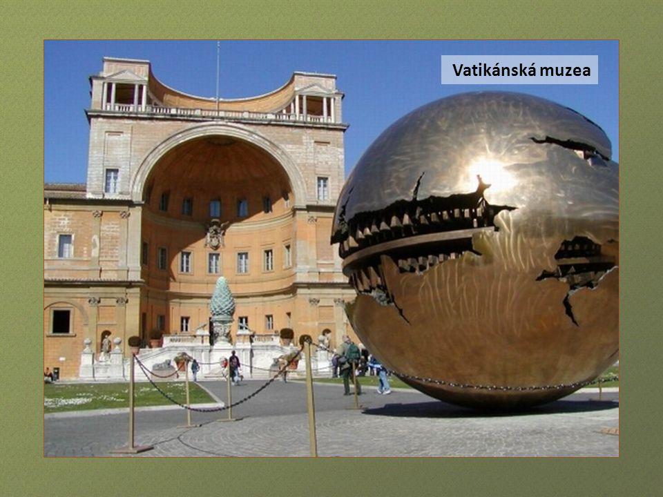 Svatopetrské náměstí ve Vatikánu