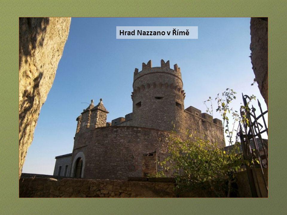 Hrad Cahen, věž Alfina