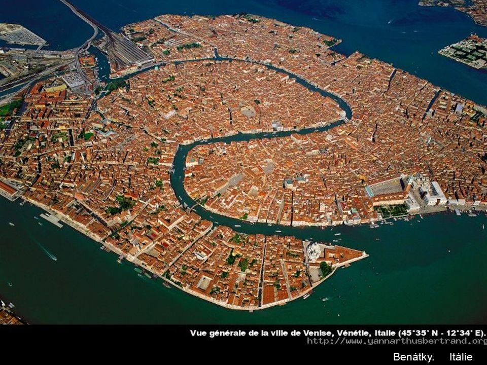 Benátky. Itálie