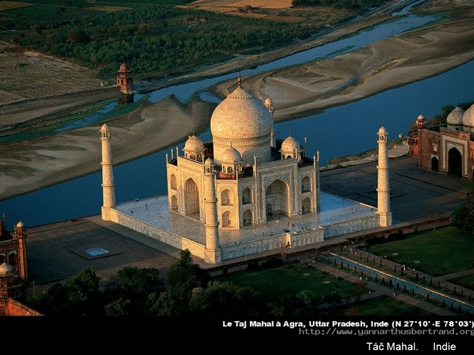 Táč Mahal. Indie