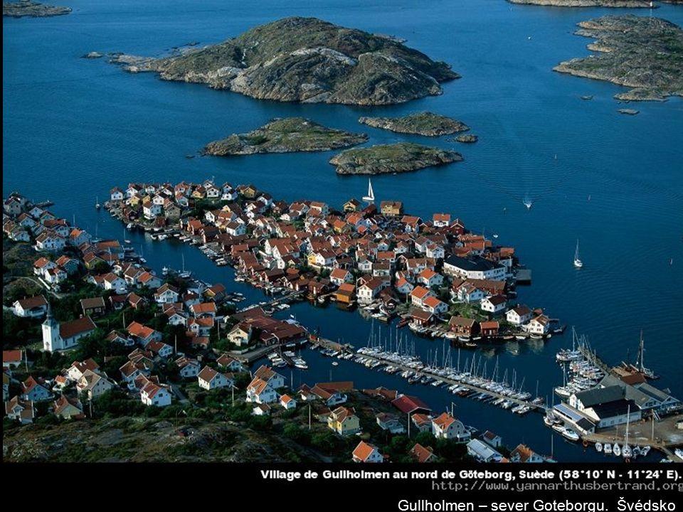 Gullholmen – sever Goteborgu. Švédsko