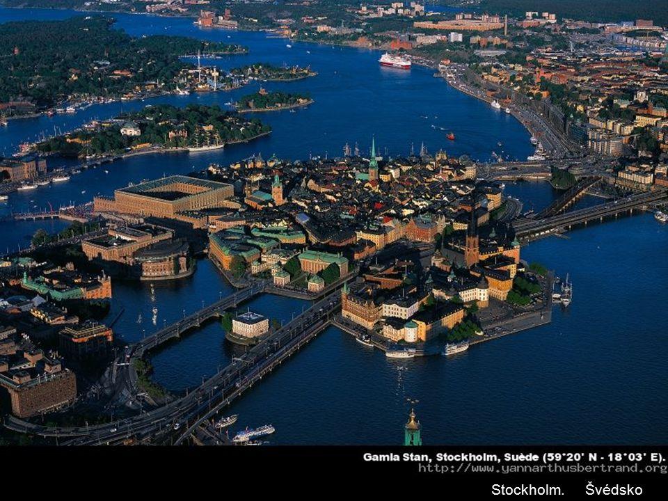 Stockholm. Švédsko
