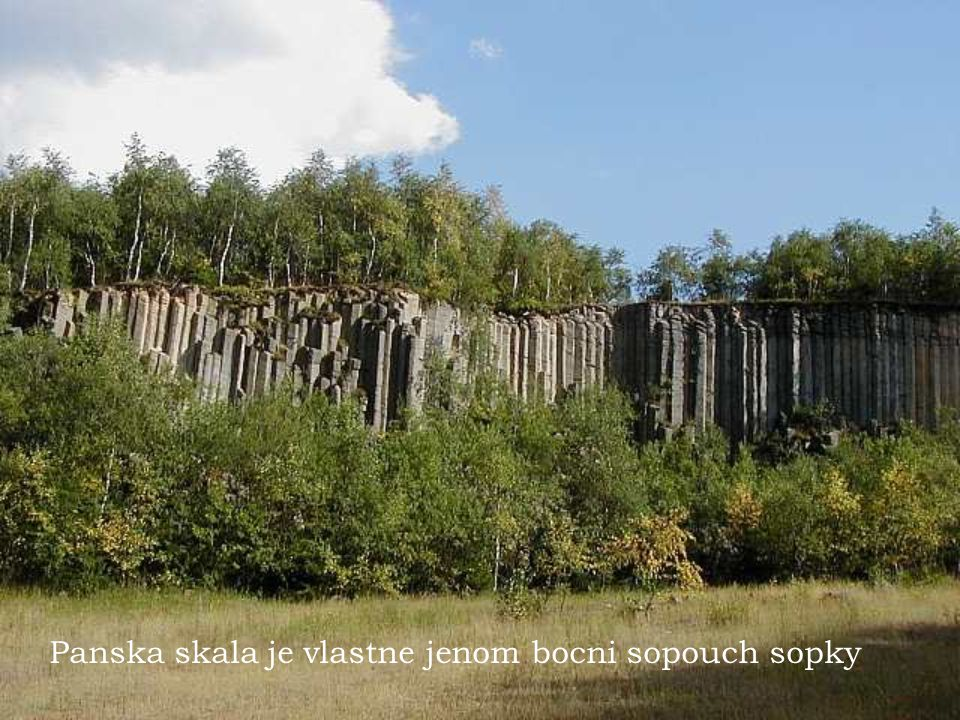 Hrad a poustevna - Sloup u Ceske Lipy