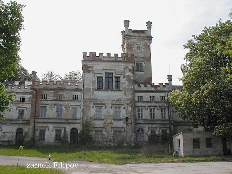 Zamek Bon Repos nedaleko Benatky nad Jizerou