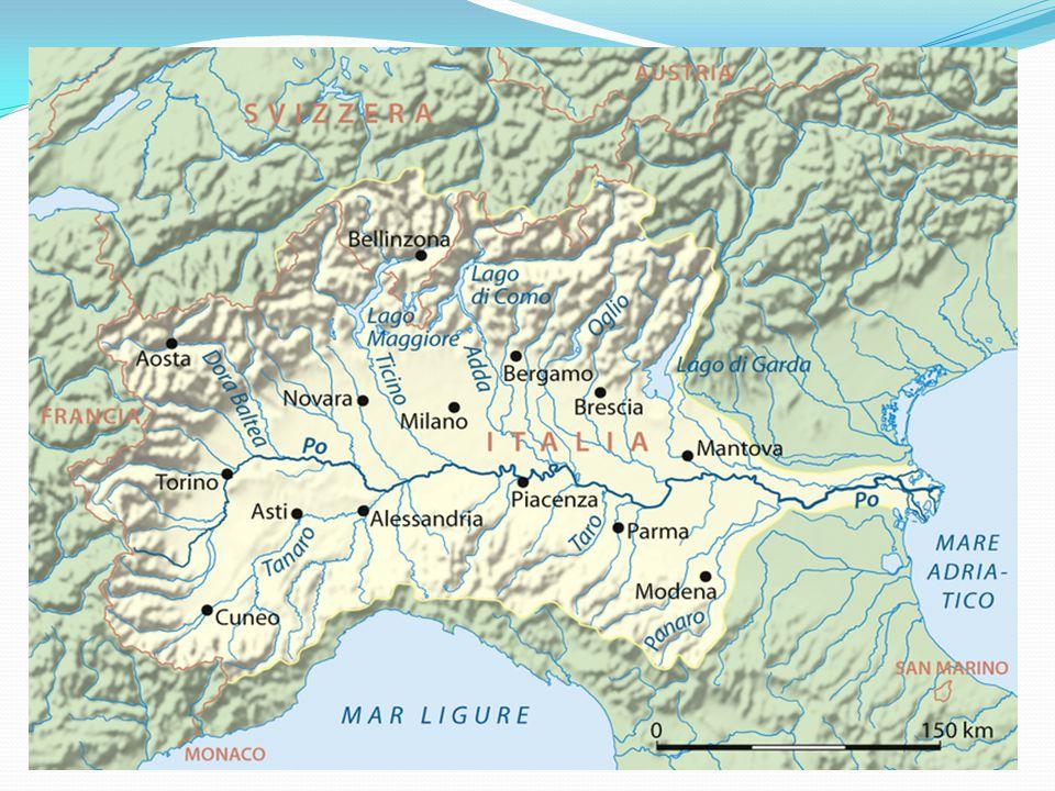 Sever Pádská nížina a podhůří Alp hlavní průmyslová a zemědělská oblast nejvýznamnější centra – Milán, Turín a Janov Milán – strojírenský, chemický, textilní a potravinářský pr.