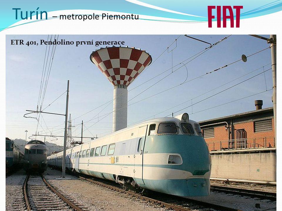 Turín – metropole Piemontu ETR 401, Pendolino první generace