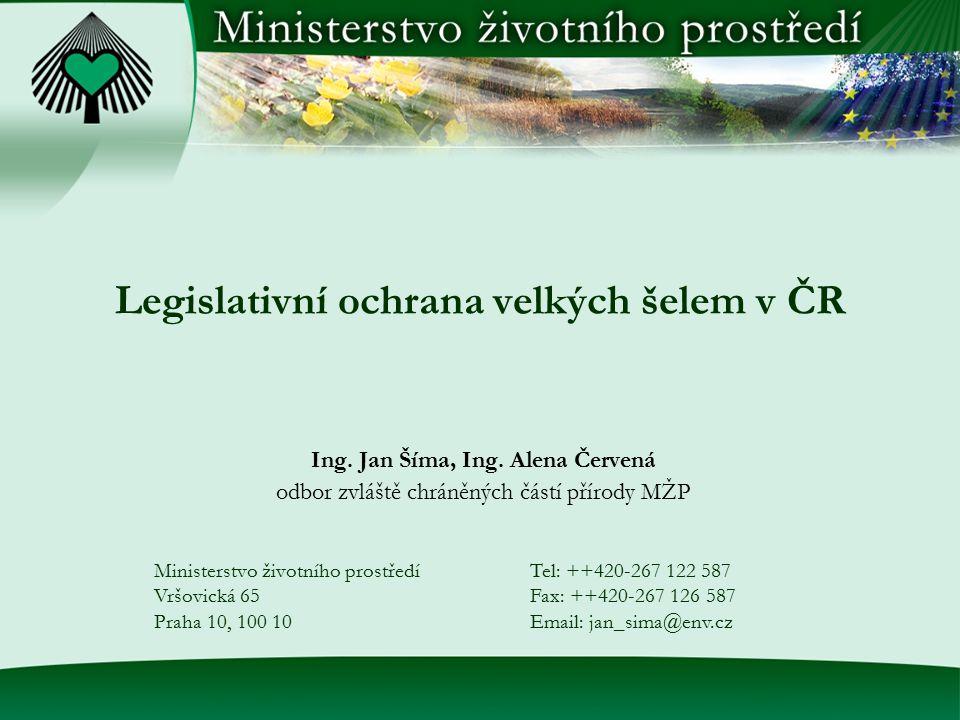 Sankce zákon č.114/1992 Sb. - pokuty do výše 100(resp.