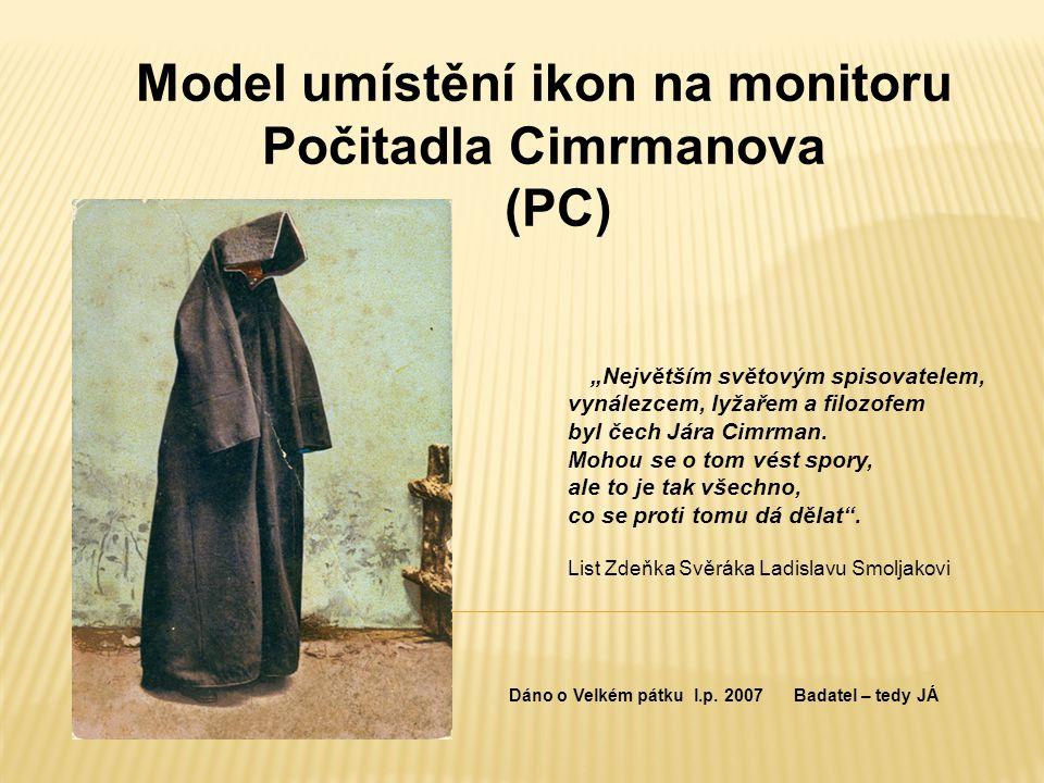 """""""Největším světovým spisovatelem, vynálezcem, lyžařem a filozofem byl čech Jára Cimrman."""