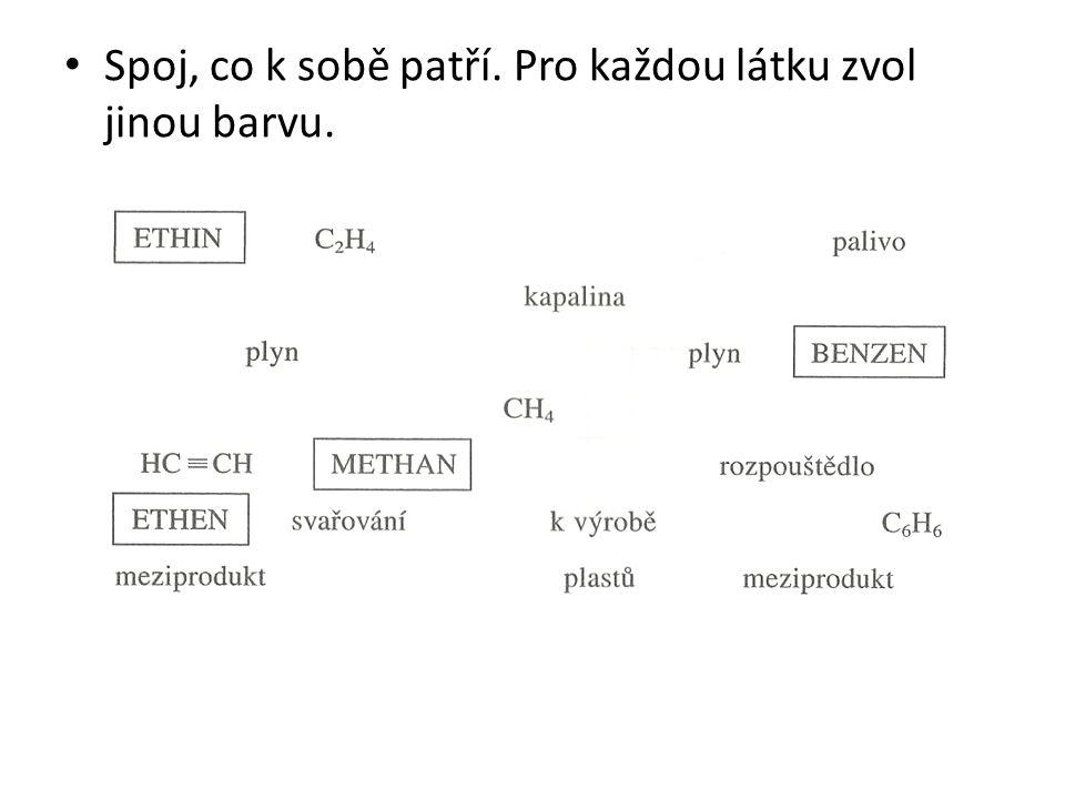 Zdroje: Základy praktické chemie 2 – doc.RNDr. Pavel Beneš, CSc., PhDr.