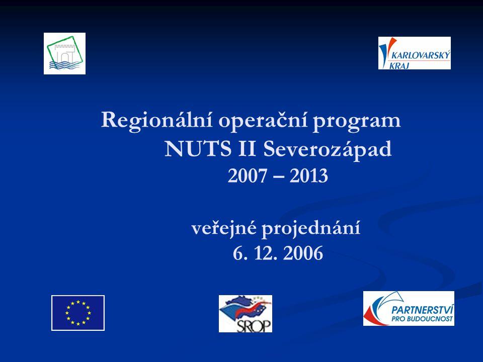 Příprava dokumentace 07/2005 – vyhlášeno VŘ na zpracovatele ROP 07/2005 – vyhlášeno VŘ na zpracovatele ROP 08/2005 - vybrán zpracovatel ROP – SPF Group, v.