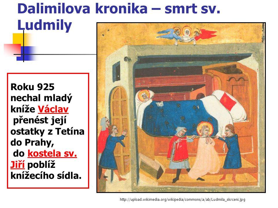 Drahomíra dává Tunnovi a Gomonovi koně a stříbro, aby zabili sv.