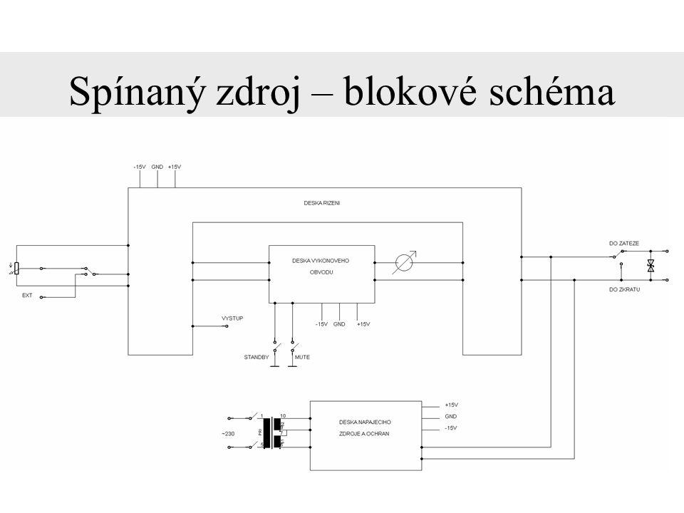 TDA8920B – blokové schéma