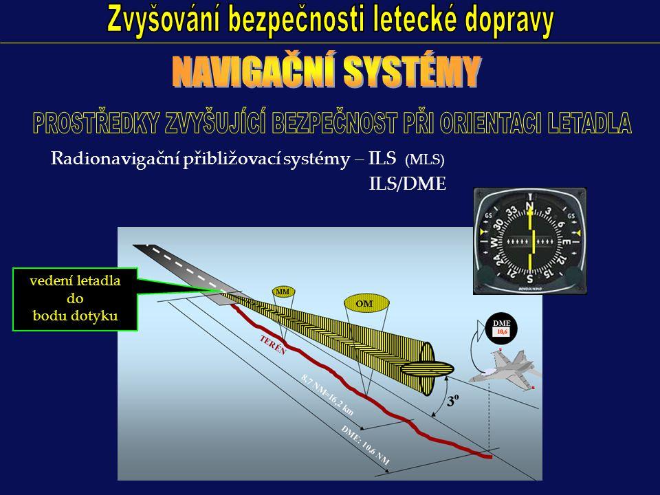 ŘLP: řízení letového provozu - přehled o provozní situaci Primární Sekundární Pojezdový Přehledový Přesný přibližovací PRINCIP: VYUŽITÍ: