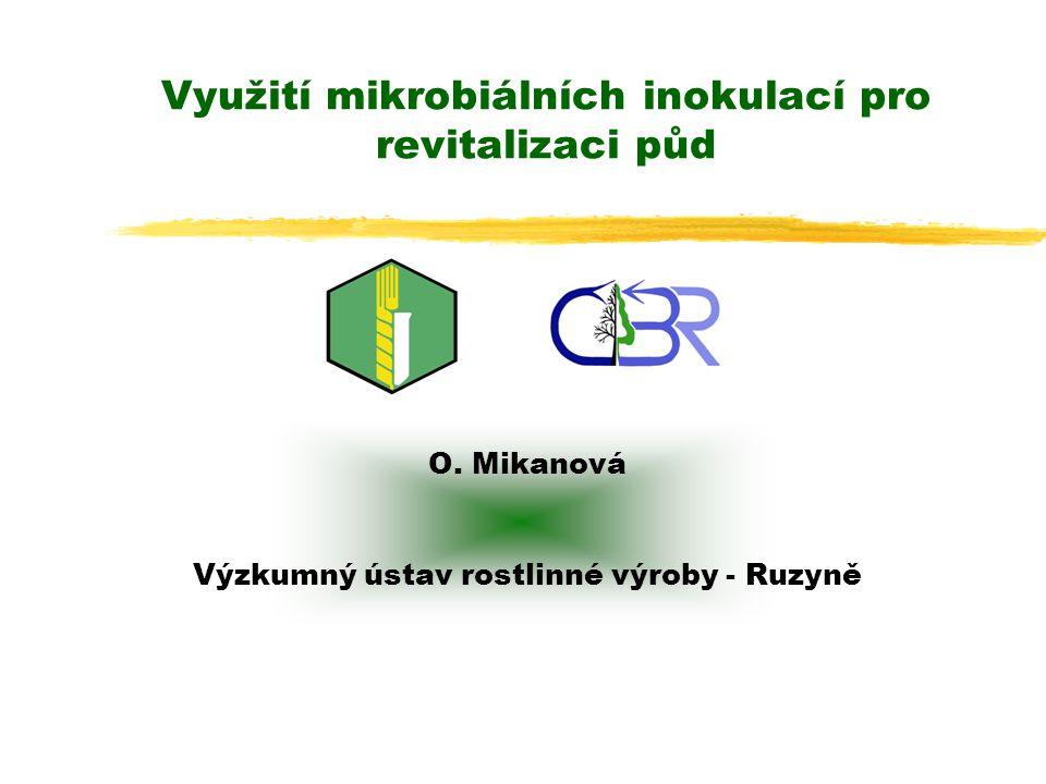 Využití mikrobiálních inokulací pro revitalizaci půd O.