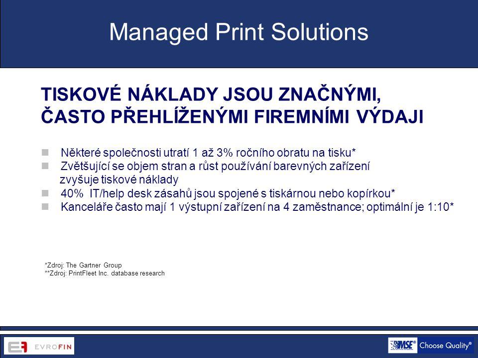 www.cdsofficetech.com *Zdroj: The Gartner Group **Zdroj: PrintFleet Inc.