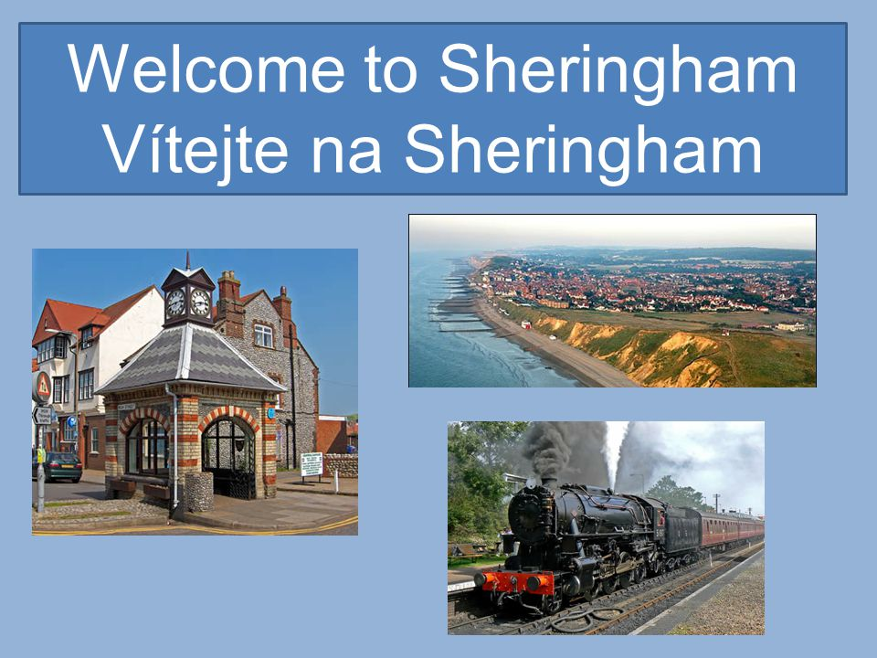 Sheringham is a popular holiday town situated on the North Norfolk Coast.