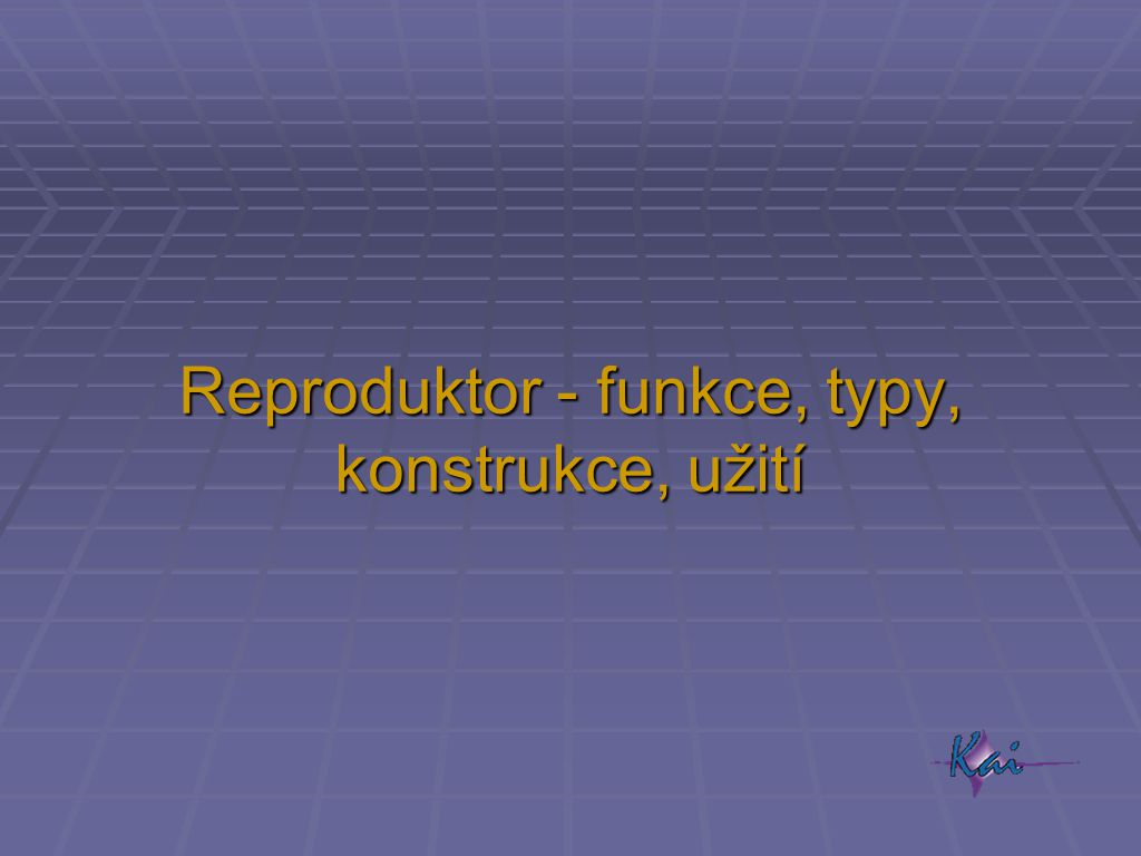Reproduktor - funkce, typy, konstrukce, užití