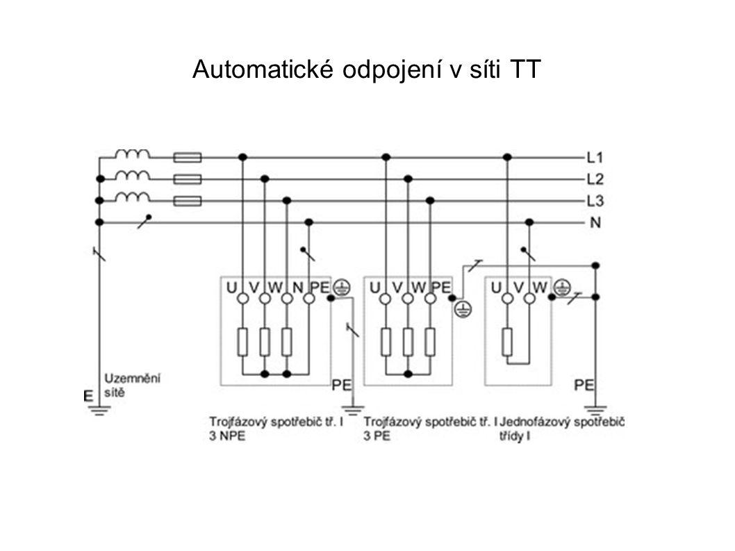 Automatické odpojení v síti TT