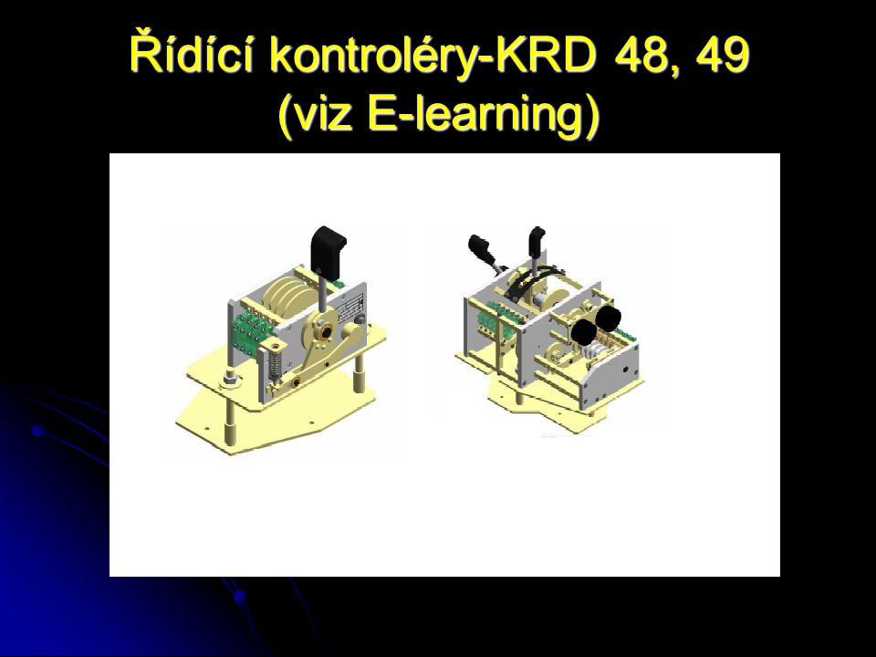 Řídící kontroléry-KRD 48, 49 (viz E-learning)