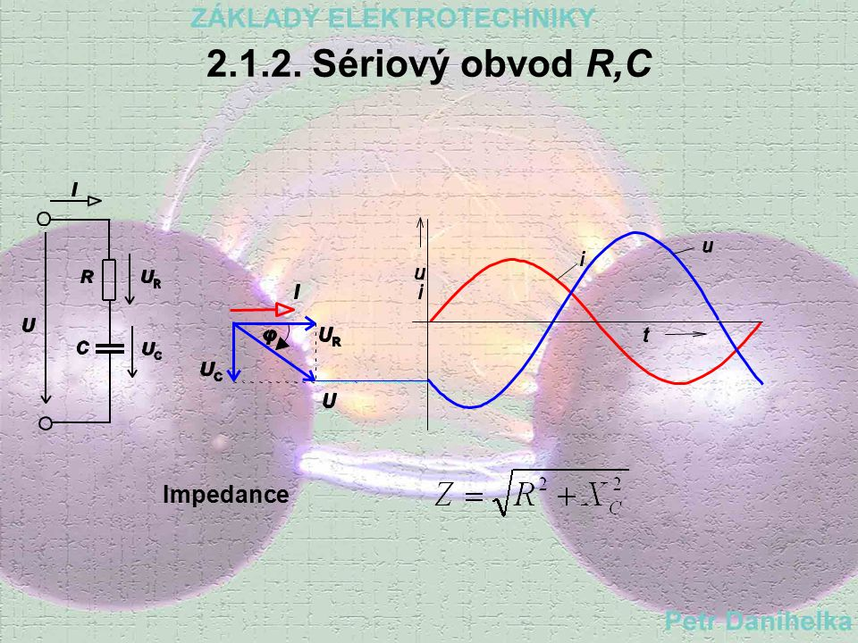 2.1.1. Sériový obvod R,L Impedance