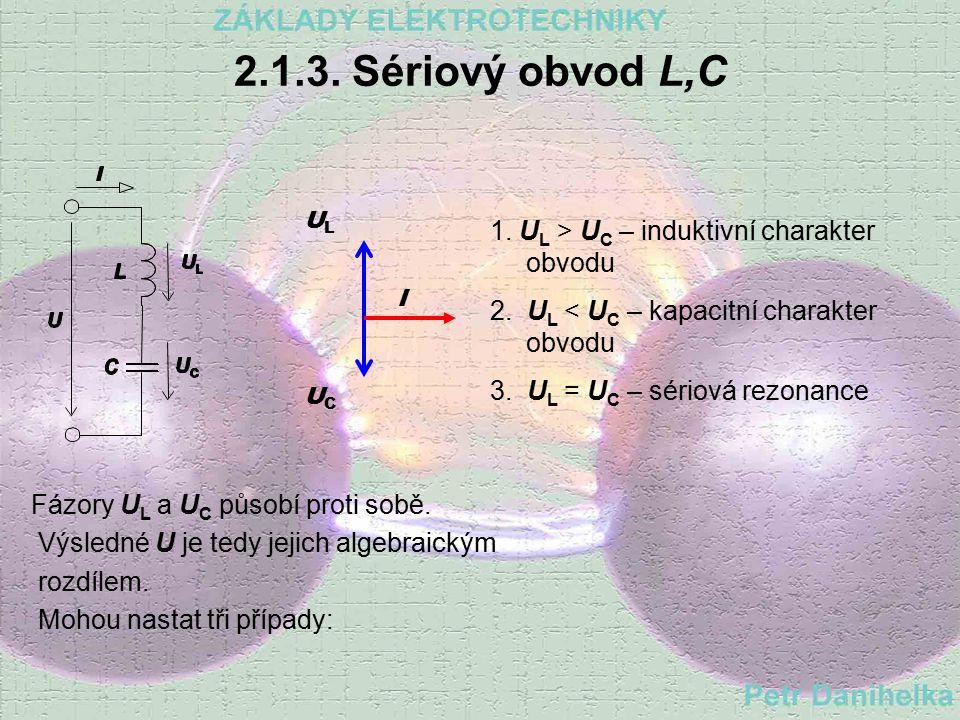 2.1.2. Sériový obvod R,C Impedance