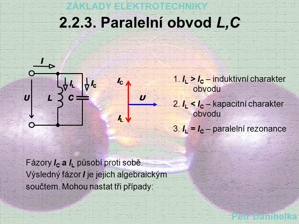 2.2.2. Paralelní obvod R,C Admitance