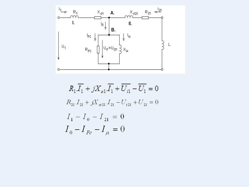 Těmto rovnicím odpovídají fázorové diagramy