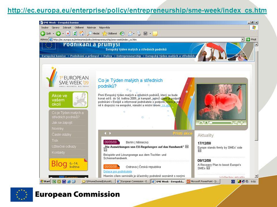http://ec.europa.eu/enterprise/policy/entrepreneurship/sme-week/index_cs.htm