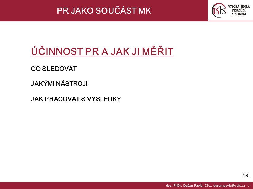 16. doc. PhDr.
