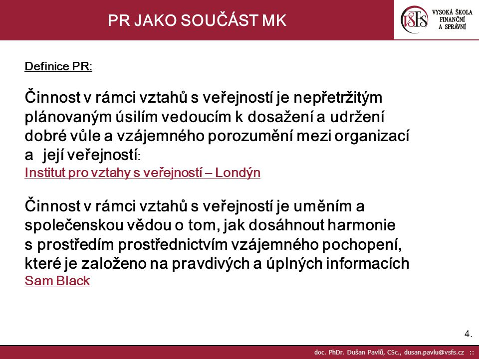 4.4. doc. PhDr.