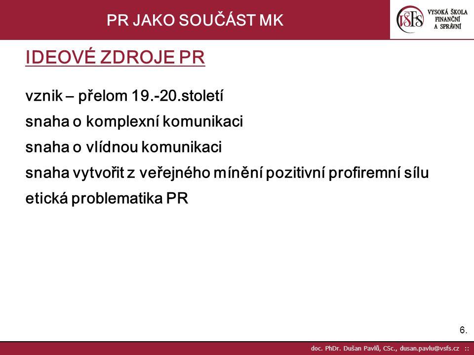 6.6. doc. PhDr.