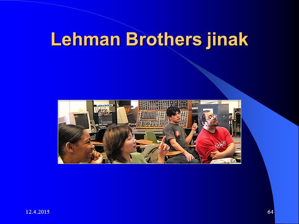 Lehman Brothers jinak 12.4.201564