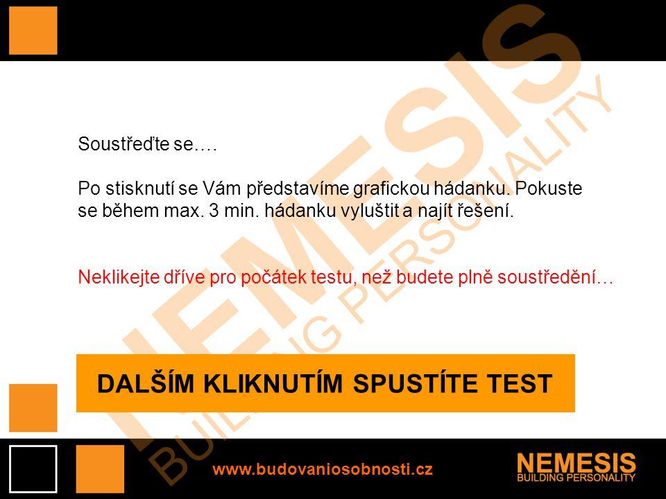 www.budovaniosobnosti.cz Agenti sedící u PC ve svých kancelářích mají důležitý úkol.