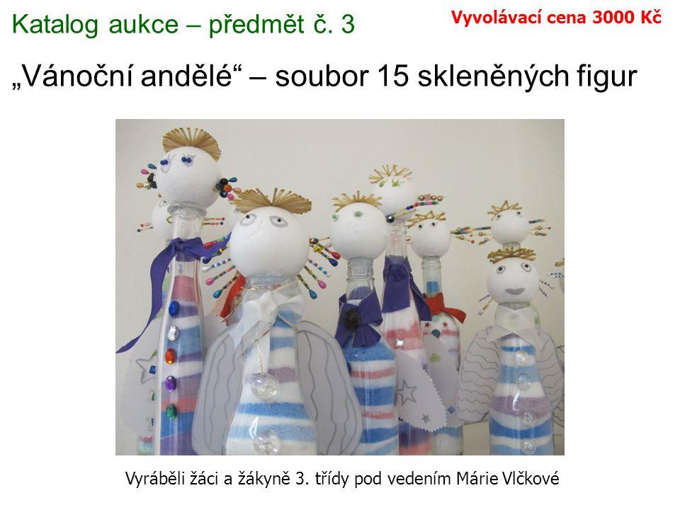 Katalog aukce – předmět č.