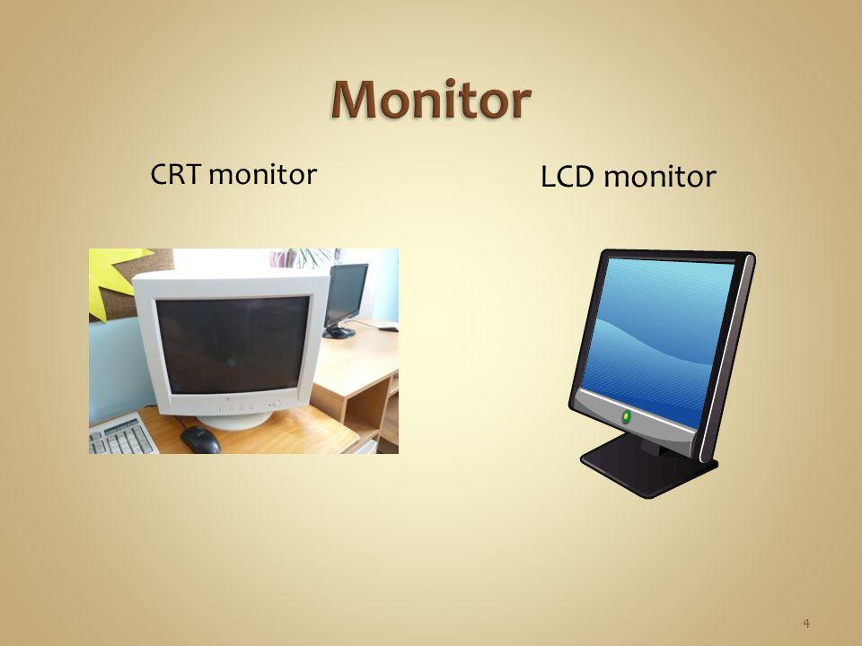CRT monitor LCD monitor 4