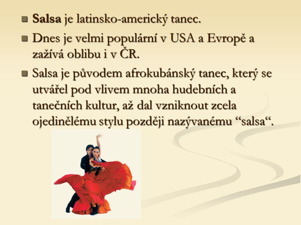 Je možné tančit v kterémkoli směru anebo úplně na místě.
