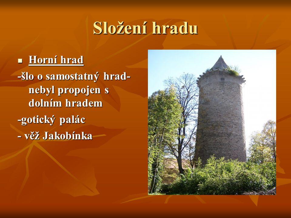 Důležití majitelé hradu Vok I.z Rožmberka Vok I.