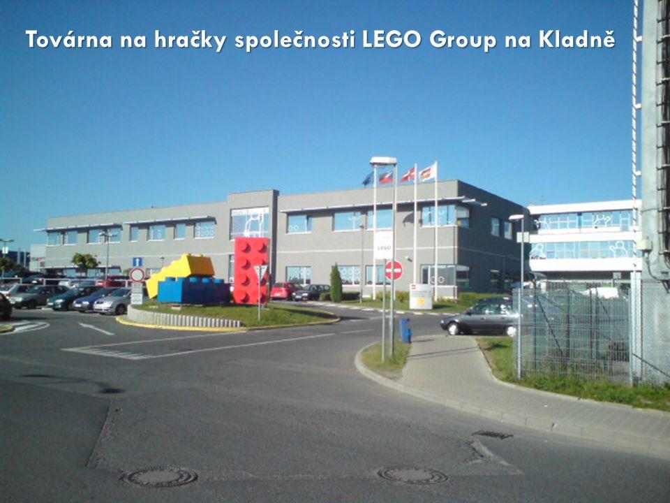 Továrna na hračky společnosti LEGO Group na Kladně