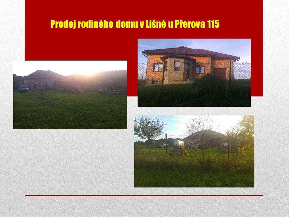 Prodej rodiného domu v Líšné u Přerova 115