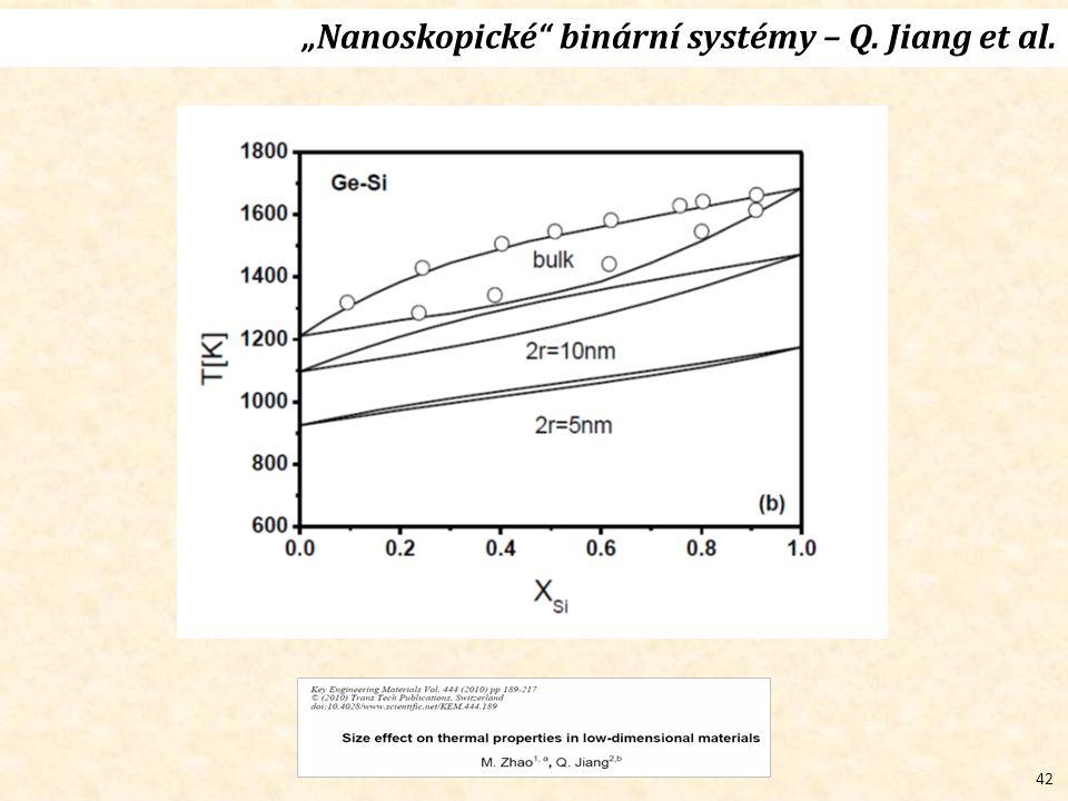 """42 """"Nanoskopické binární systémy – Q. Jiang et al."""