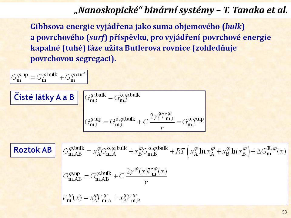 """53 """"Nanoskopické binární systémy – T.Tanaka et al."""