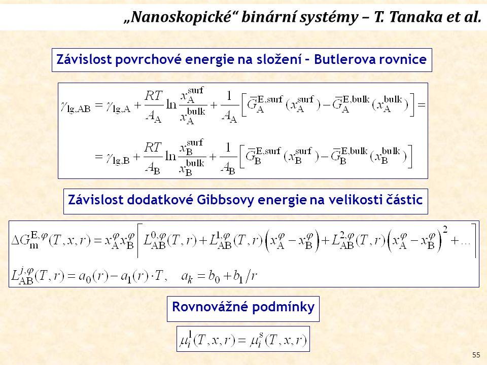 """55 """"Nanoskopické binární systémy – T.Tanaka et al."""