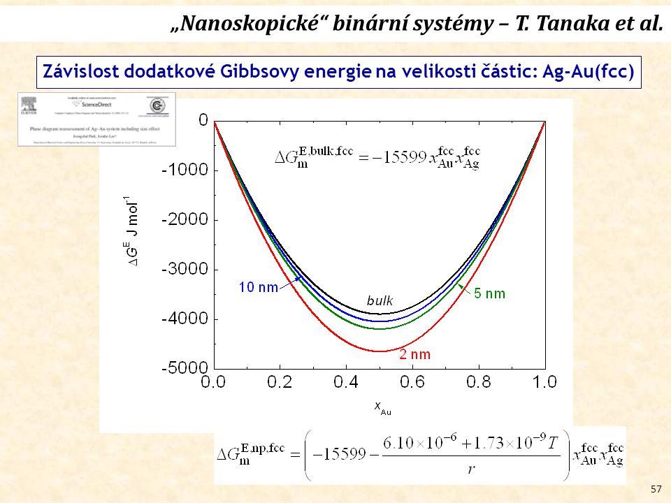 """57 """"Nanoskopické binární systémy – T.Tanaka et al."""