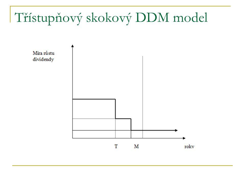 Třístupňový skokový DDM model