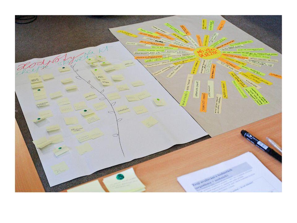 """ 24  Podněty z celého projektu (""""slunce , hodnoty, vize) jsme použily při formulaci POSLÁNÍ."""