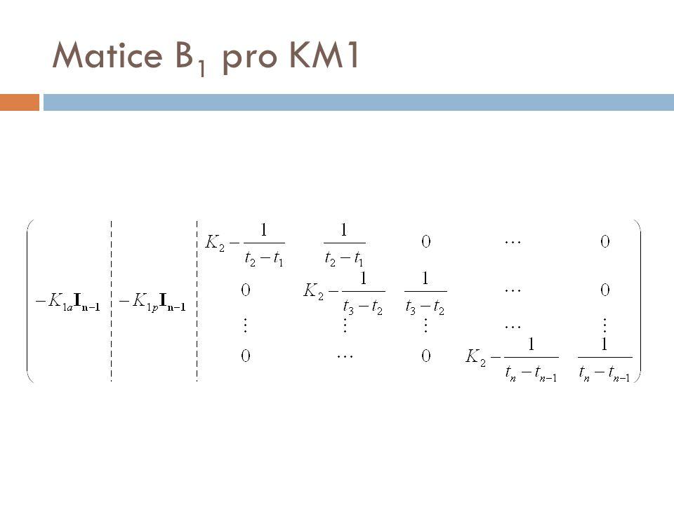 Matice B 1 pro KM1
